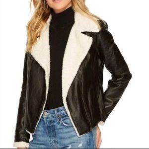 JACK by BB Dakota Lovella vegan Leather jacket, S
